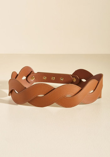 Get In Touch With Your Helix Belt in Chocolate