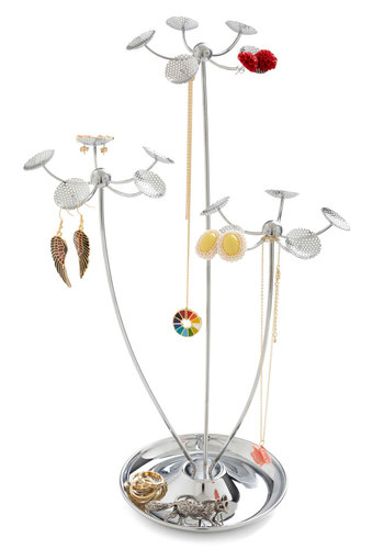 Growing Collection Jewelry Stand - Silver, Solid, Top Rated