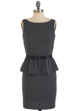 Editor's Pick Dress, peplum dress, business clothes for women