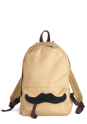 Nouveau Richard Backpack - Tan, Brown, Black, Casual, Urban