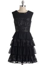 Material Twirl Dress