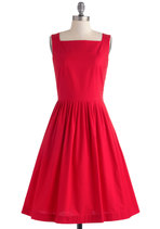 plus size red dress from ModCloth
