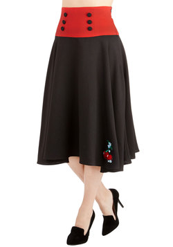 1950s Fashion - Good, Cherry Good Skirt