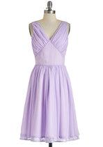 Vintage Wedding Style - Ooh La Lavender Dress