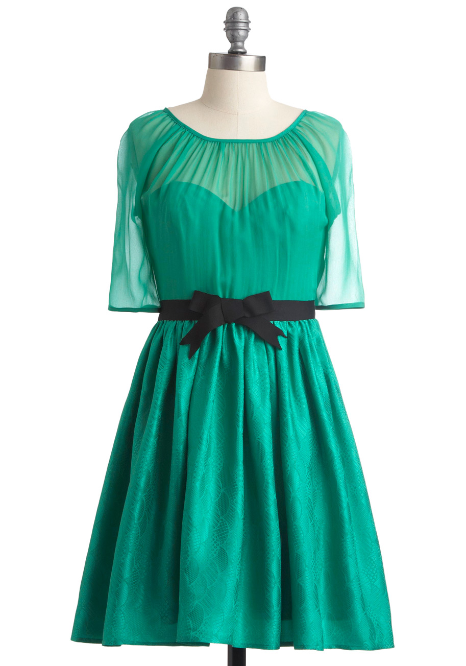 Corey Lynn Calter Jade Dress Mod Retro Vintage