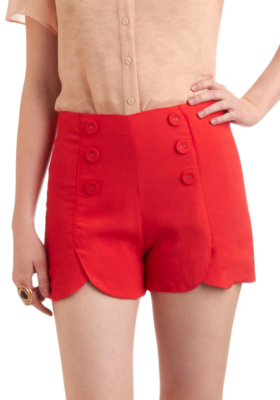 Red Sailor Shorts Squad