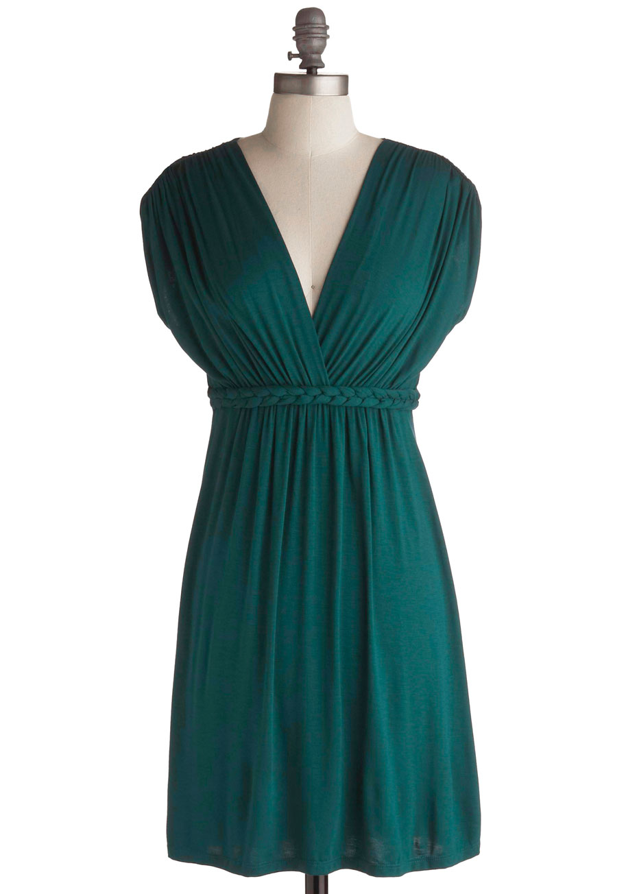 ModCloth Green Dress
