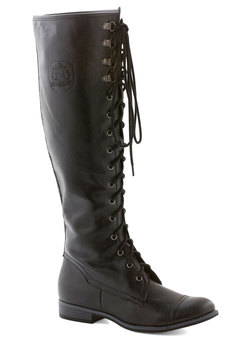 chocolate craving boot in black (modcloth)
