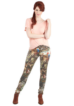 Landscape Illustrator Pants