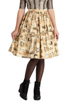 Plus sized halloween skirt ModCloth