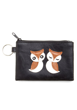 Owl of Your Money Coin Purse