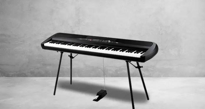 Korg SP-280BK 88-Key Digital Piano and Speaker (Black) – Reviews