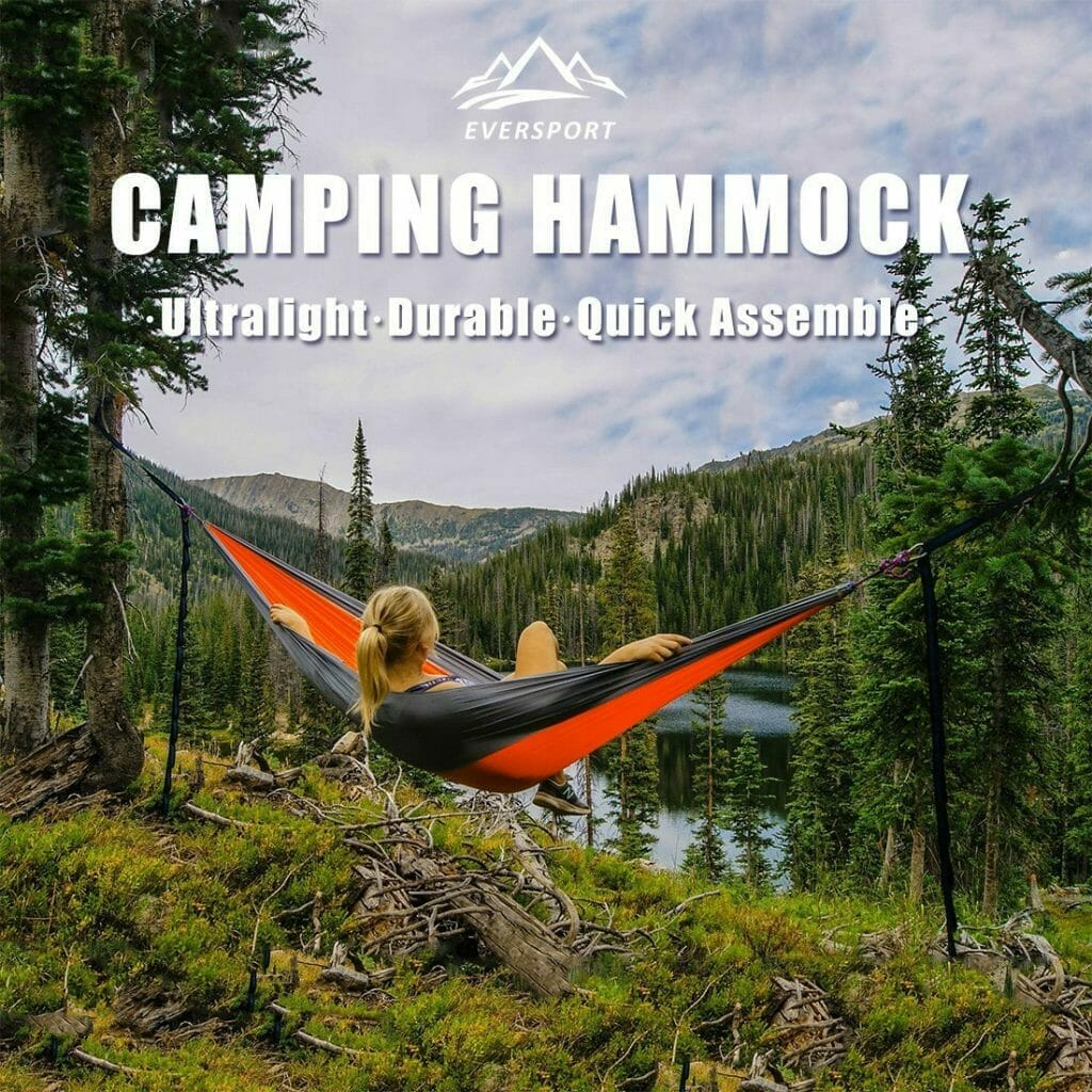 Camping Hammock By Eversport Single Person Ultralight