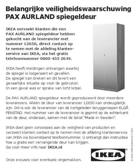 Pax Kast Onderdelen