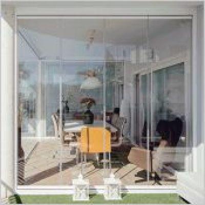 serie standard rideaux de verre