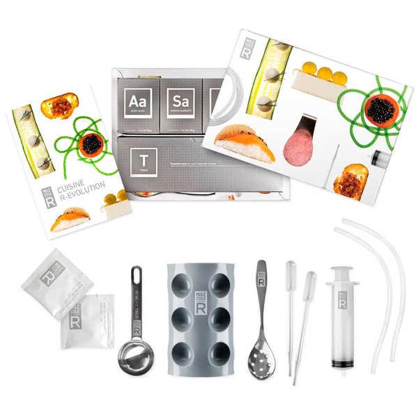 Molecular Gastronomy Kit and book Cuisine REvolution