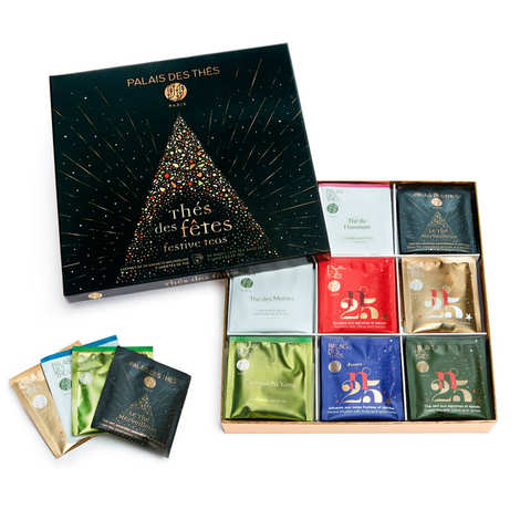 selection of festives teas from by