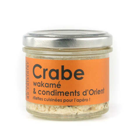 crab wakame seaweed and orient spices spread