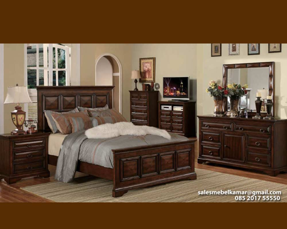 Set Kamar Tidur  Furniture Jepara