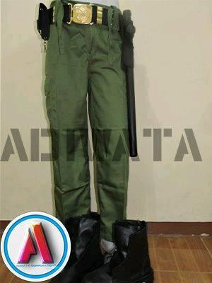 gambar seragam celana linmas