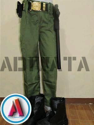 jenis celana seragam Linmas