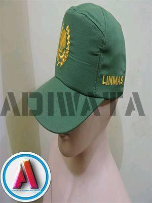 ini adalah topi linmas