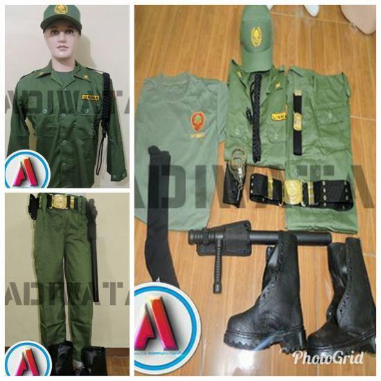 Perlengkapan linmas lengkap,seragam linmas produksi perlengkapan linmas