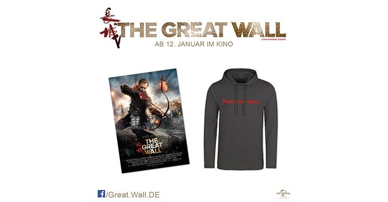 THE GREAT WALL Gewinnspiel
