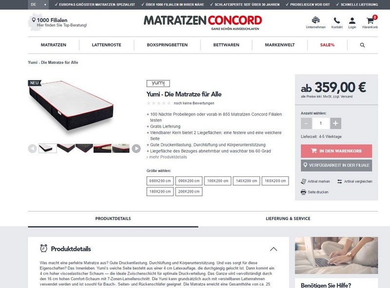 matratzen concord test my blog. Black Bedroom Furniture Sets. Home Design Ideas