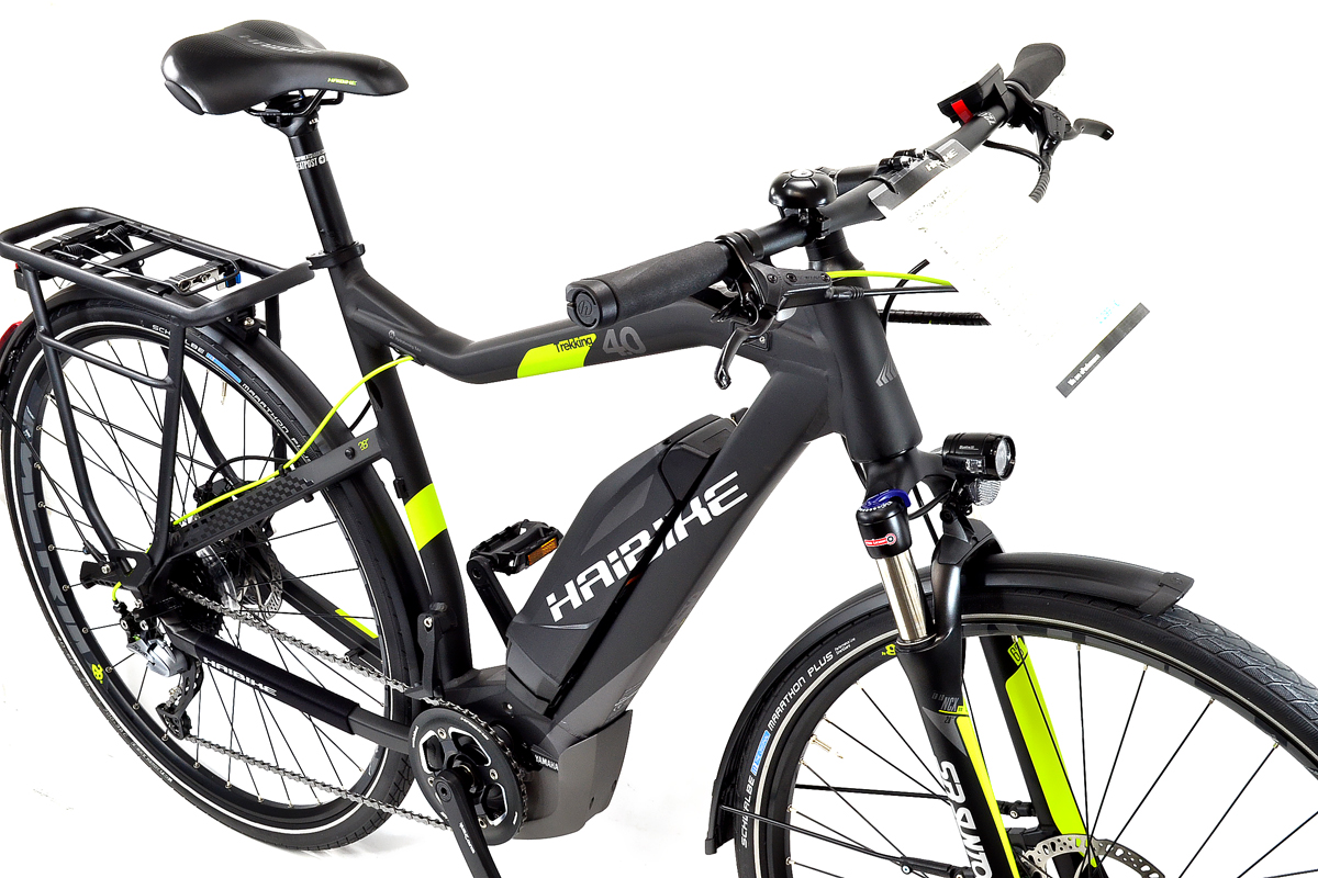 Neu Haibike Herren Trekking 4 0 Elektro Fahrrad Sduro