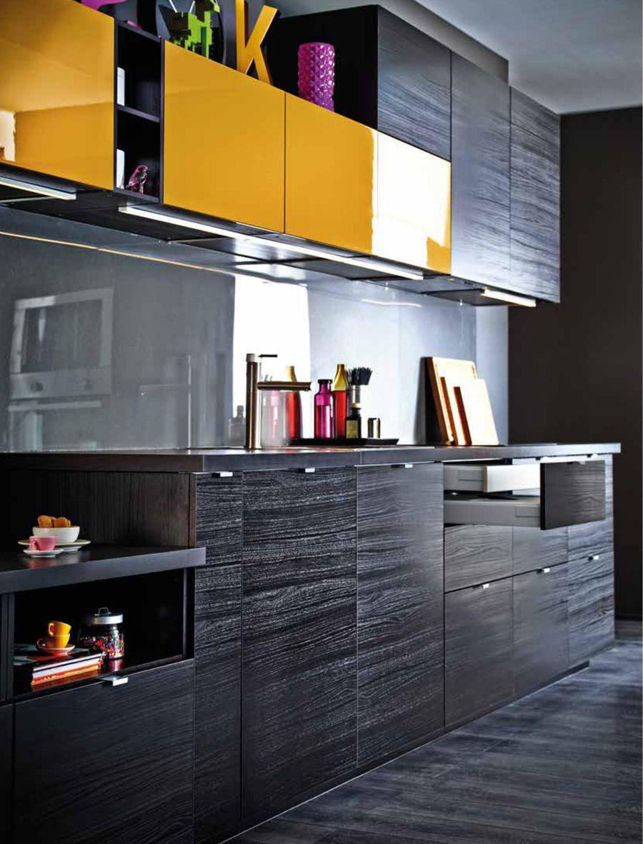 Ikea Kuche Schwarz Braun Kuche Modern Schwarz Weiss Bildergalerie Ideen