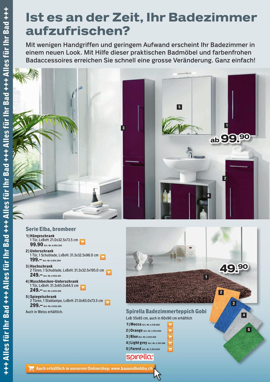 Badezimmermobel Coop Bau Hobby Nett Hocker Badezimmer Bilder