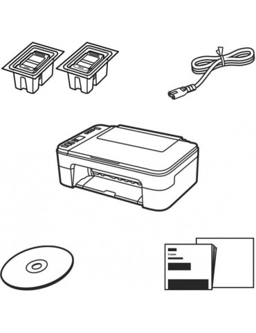 Canon PIXMA TS3350 inkjet multifunction printer with WLAN