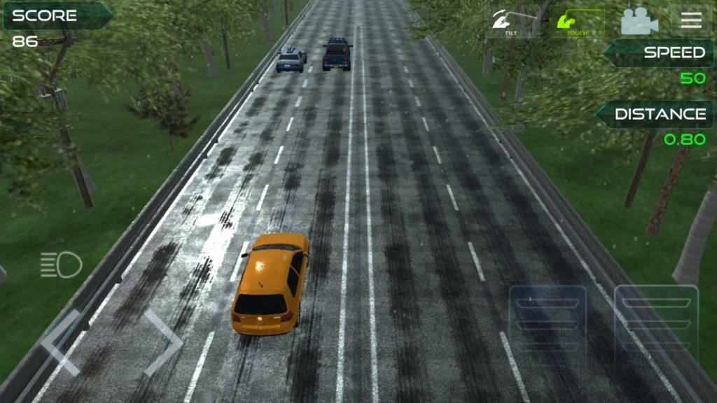 Highway asphalt racing :traffic nitro racing
