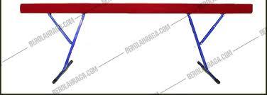 Go-Up Balance Beam Junior Kayu P 4mtr T  30-60cm