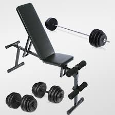 Produsen Bench press + Stang Barbel Grosir