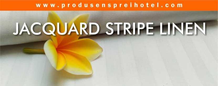 JACQUARD STRIPE LINEN HOTEL