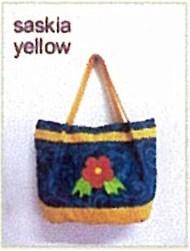 tas kain goni - saskia yellow