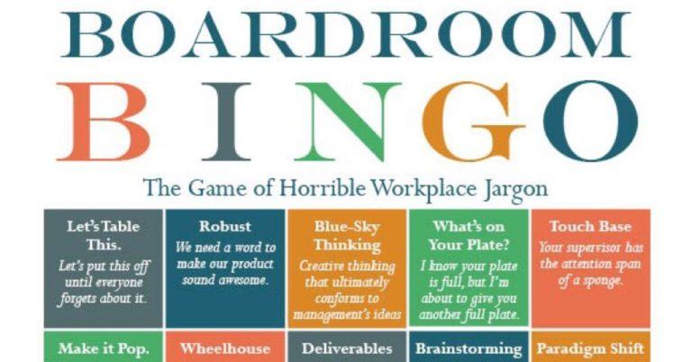 Boardroom Bingo