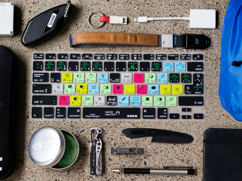 Freelancer EDC Remote Worker Everyday Carry Gear and Gift Guide Layout by ProEdit