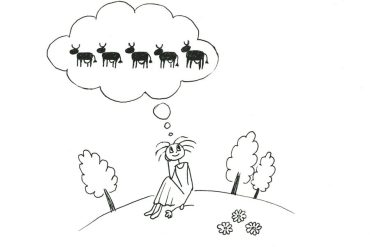 восемь коров притча