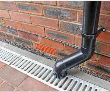 Ливневая канализация в доме