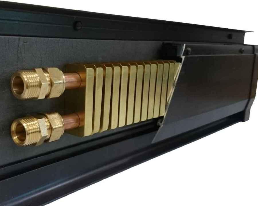 радиатор вместо плинтуса