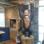 Big Foot at the Burton Snowboards Headquarters in Burlington, VT