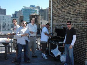 Design-engine rooftop grilling West Loop Chicago