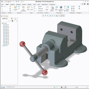 Creo Vise Assembly