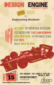 Design Engine Open House for Engineering Students
