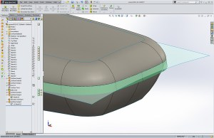 Steelcase Leap Chair Arm Rest Solidworks Surfacing model
