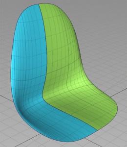 surface edit seat surface manipulation