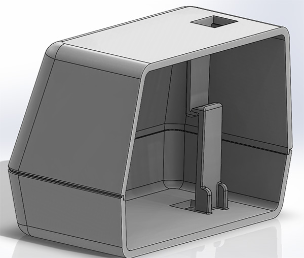 solidworks plastic part design